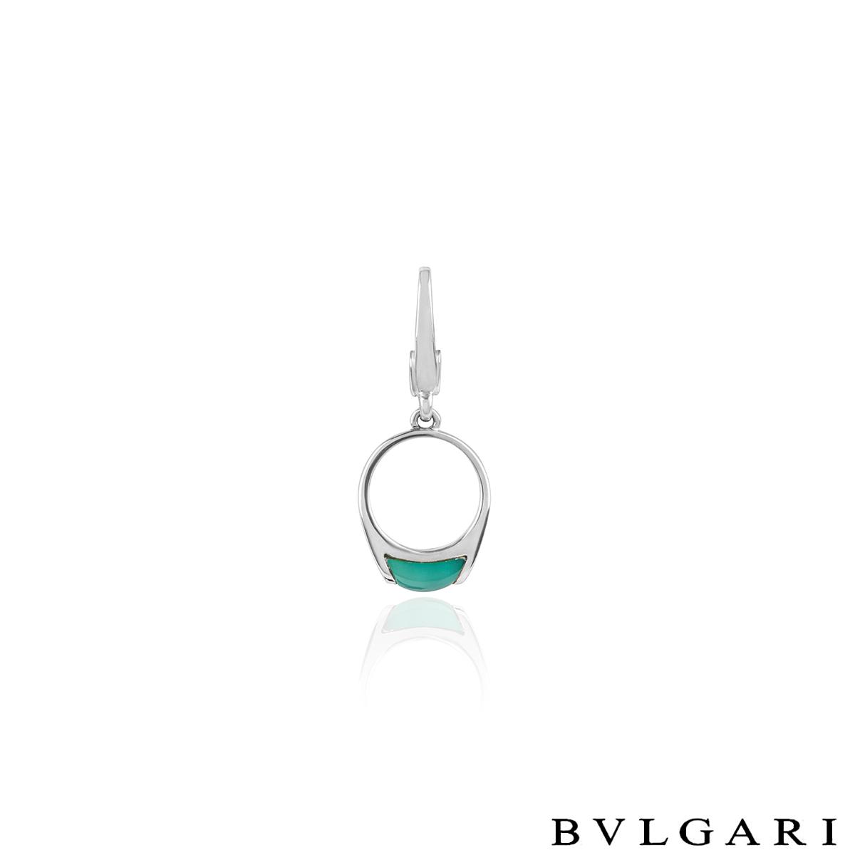 Bvlgari Jade Charm Pendant